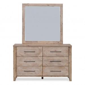 Santa Fe 6 Drawer Dresser & Mirror
