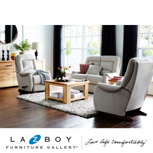 Serenity 3 Piece Lounge Suite (2 Seater Glideaway and Two Rocker Recliners)