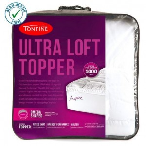 Tontine Ultra Loft Queen 1000gsm Mattress Topper