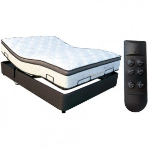 Long Single Ultraflex Adjustable Base with Splendor Mattress