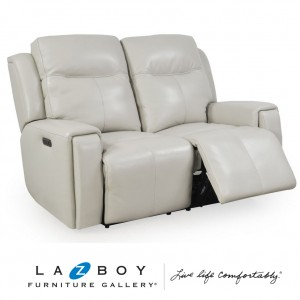United  2.5 Seater Twin Power Recliner With Power Headrest And App