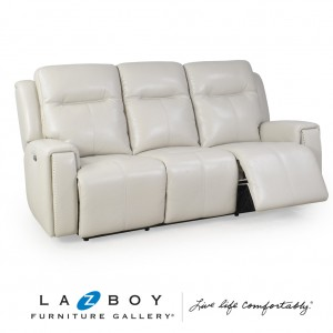 United 3 Seater Twin Power Recliner With Power Headrests And App