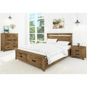 Phoenix Queen Bed With Storage